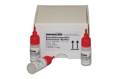 DIPRO DRUGLAB® Extraktionsbuffer zur Substanztestung, 25x1.5 ml