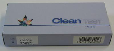 DIPRO Clean Test® (home test), Testkit zum Drogennachweis für AMP, COC, MET,OPI/MOR, THC