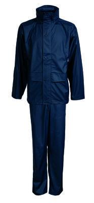 0163124-007 Regenset PU Jacke&Bundhose Marine
