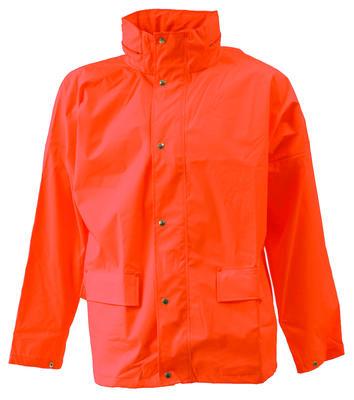 026300-006 Jacke PU Orange
