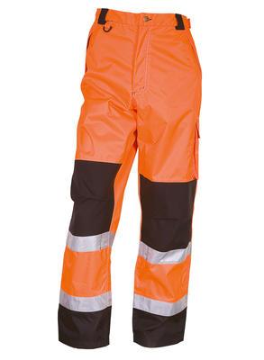 082400R-033 Bundhose Warn-Orange/Schwarz EN471
