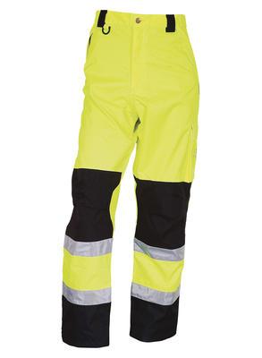 082400R-042 Bundhose Warn-Gelb/Schwarz EN471