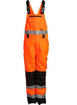 089900R-033 Latzhose Warn-Orange/Schw. EN471
