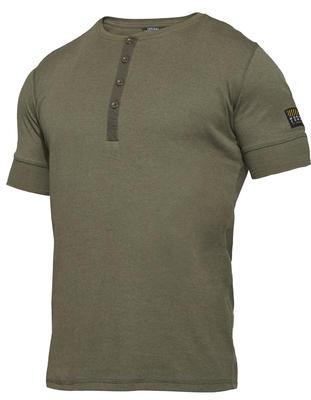 0929-565 Explore Grandad Kurzarm-Shirt