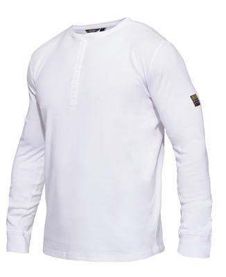 0930-565 Explore Grandad Langarm-Shirt
