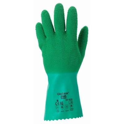 16-650 Gladiator-Handschuhe, blau/grün