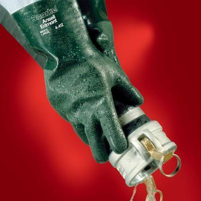 4-414 Ansell Snorkel-Handschuhe,grün