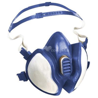 4277 Atemschutzmaske FFABE1P3RD gegen organische, anorganische und saure Gase und Dämpfe,