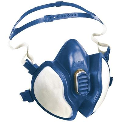 4279 Atemschutzmaske 3M Filterklasse ABEK1P3 aus Synthetikgummi, Kopfbänderung