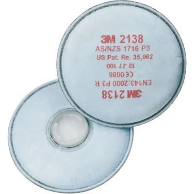 2138 P3R Partikelfilter mit Aktivkohle mit zusätzlichem Schutz gegen organische Gase und Dämpfe
