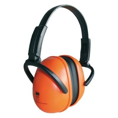 1436 3M Kapselgehörschutz, SNR = 28dB, orange, falt- und einstellbar, Einstiegsversion