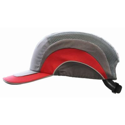 Coltan-Anstosskappe, grau/rot (20)