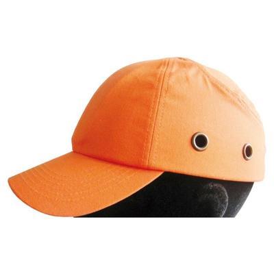 Anstosskappe, Baseball-Look, orange