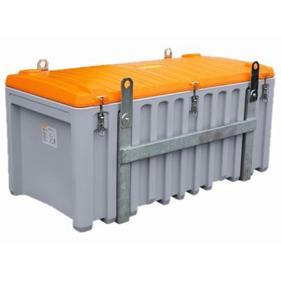 CEMbox, grau/orange, 150 Liter