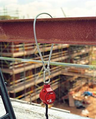 MJ51 Stahlschlinge 1m, kunststoffumantelt, d = 6,3 mm