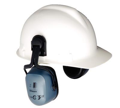 Clarity C3H Helmkapsel mit Ad. 3711, -12, -21, hohe Dämmung (SNR 33)