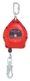 10 m Falcon, Stahlseil verzinkt, Kunststoffgehäuse, Revisionsfrei