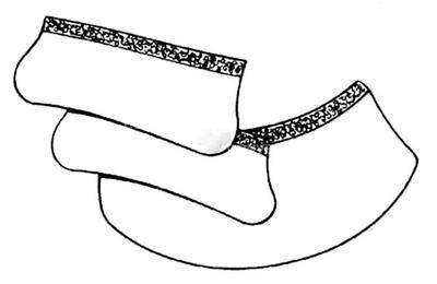 164005 Ohr- und Halsschutz aus Leder (3 Teile)