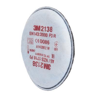 2138 P3R Partikelfilter mit Aktivkohle mit zusätzlichem Schutz gegen organische Gase und