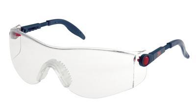 2730 Schutzbrille AS/AF/UV, PC, klar, einstellbar, softe Bügelenden und weicher Nasensteg