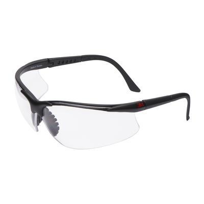 2750 Schutzbrille AS/AF/UV, PC, klar, einstellbare Bügellänge, weicher Nasensteg