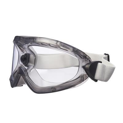 2890A Vollsichtbrille, Acetat Beschichtung, AS/AF/UV, PC, mit Belüftungsschlitz,