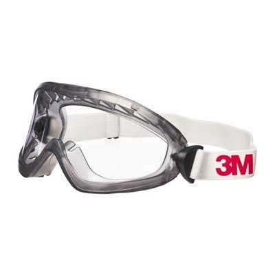 2890A Vollsichtbrille, Acetat Beschichtung, AS/AF/UV, PC, ohne Belüftungsschlitz