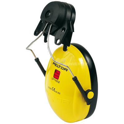 Optime I mit Helmbefestigung P3E für 30mm Schlitz für alle 3M Schutzhelme (ausser G2000),