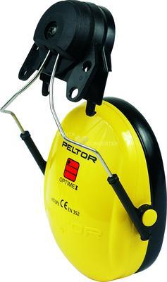 Optime I mit Helmbefestigung P3K für 3M G2000, SNR = 26 dB, gelb