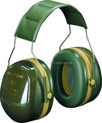 Bull's Eye III mit Kopfbügel, SNR = 35 dB, grün