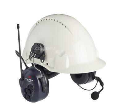 LiteCom mit Helmbefestigung, eingebautes PMR 446 Funkgerät, inkl. Boom Mikrofon, SNR = 33