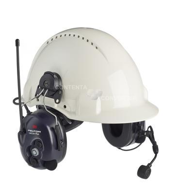 LiteCom Plus mit Helmbefestigung, eingebautes PMR 446 Funkgerät, gleichzeitige