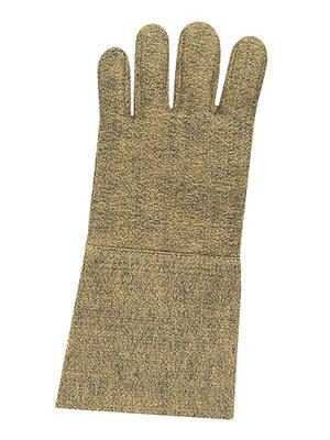 Hitzeschutzhandschuhe aus Aramid/Rayonfilz, 35 cm lang