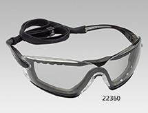 Schutzbrille BOLLÉ mit farblosen, kratz festen, beschlagfreien Polycarbonatscheiben