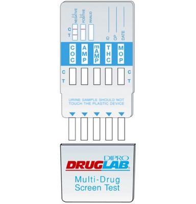 DIPRO DRUGLAB® Kokain (COC), Einzelkassettentest 300 ng, 25x1 Test