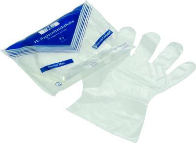 Einweg-Handschuhe gestanzt 100 Stück groß