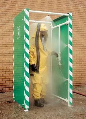 Durchgangs DekontaminationsduscheTyp: DEC-D-29D