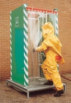 Durchgangs DekontaminationsduscheTyp: DEC-D-29DS