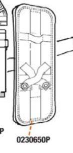 0230650P Vortex/Vortemp Komfort-Polster