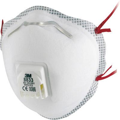 3M™ Atemschutzmaske 8833 FFP3 mit Ventil