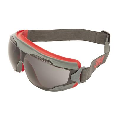 3M™ Goggle Gear™ 500 Vollsicht-Schutzbrille, Scotchgard™ Anti-Fog-Beschichtung (K/N), graue Scheibe,
