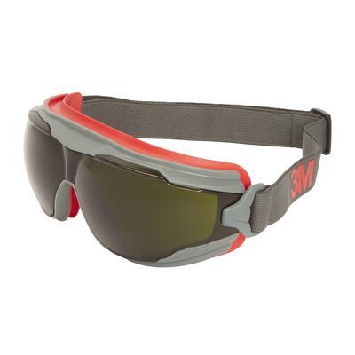 3M™ Goggle Gear™ 500 Vollsicht-Schutzbrille, Scotchgard™ Anti-Fog-Beschichtung (K/N), graue Scheibe