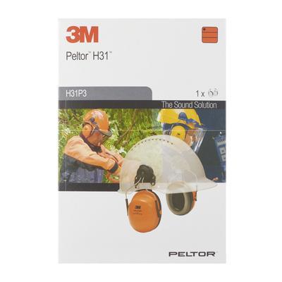 3M™ PELTOR™ HELMKAPSEL H31P3AF, ORANGE, SNR = 28 DB
