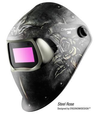 3M™ 751820 Speedglas™ Schweißhelm 100, Steel Rose mit 100VSchweißfilter