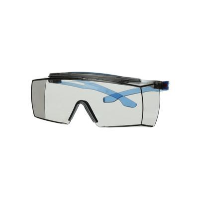 3M™ SecureFit™ 3700 Überbrille, blaue Bügel, integrierter Augenbrauenschutz, Scotchgard™ Anti-Beschl